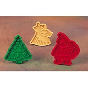 Noel Cookie Cutters, Set of 3