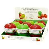 Apple & Dip-to-go Snack Attack Counter Display