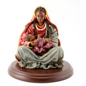 African American Mother and Child Figurine Wholesale Bulk