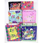 Medium Birthday Gift Bag, 2pk