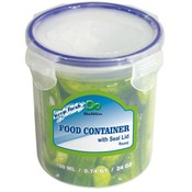 24 oz Click Lock Round Food Storage Container Wholesale Bulk