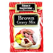 Sauce Supreme - Brown Gravy Mix