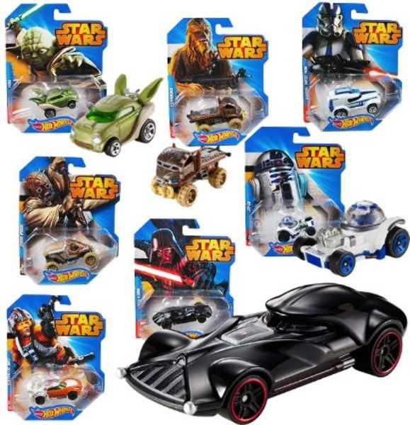 Assorted HOT WHEELS Star Wars Vehicle [2276193]
