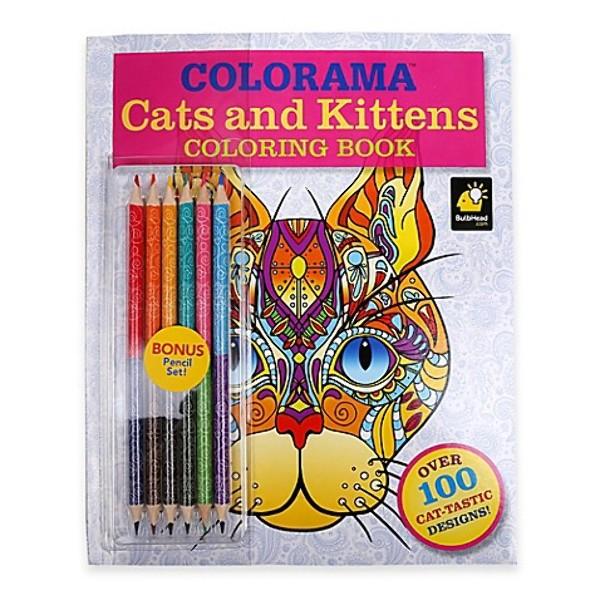 Wholesale Colorama Cats Coloring Book SKU 2314994 DollarDays