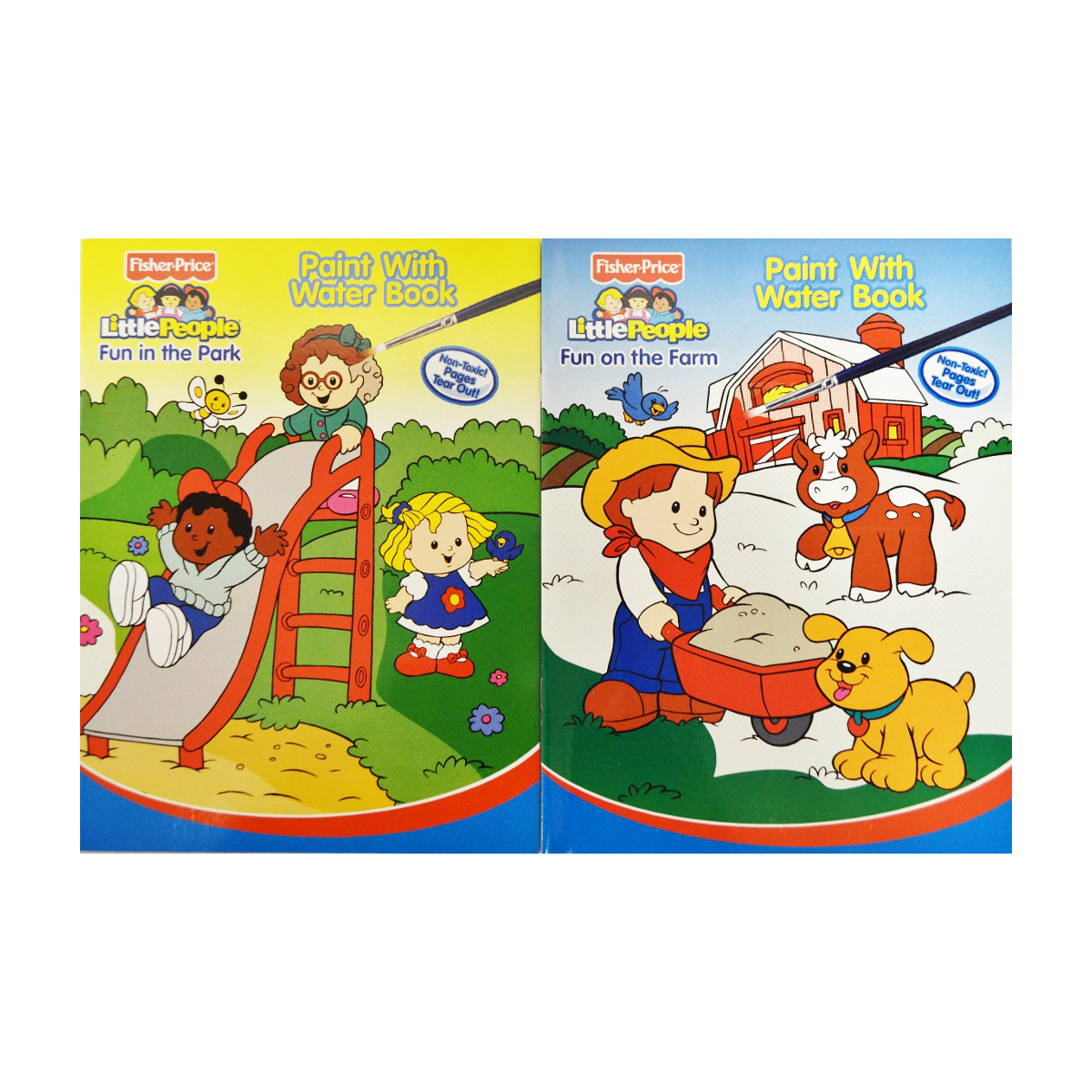 72 Piece Fisher Price PAINT with Water Book [2326894]