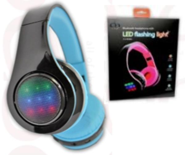 wholesale bluetooth headphones with led lights sku. Black Bedroom Furniture Sets. Home Design Ideas