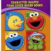Sesame Street Shaped Books