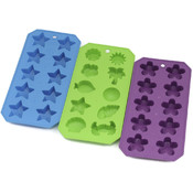 Novelty Shapes - Flexible Ice Cube Trays