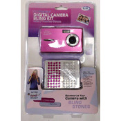 5.1 Megapixel Digital Camera Bling Kit