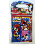11 Pc Disney Mickey &amp;amp; Minnie Stationary Set
