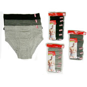 """HANE'S REGULAR BRIEFS-Asst. Colors & Size"