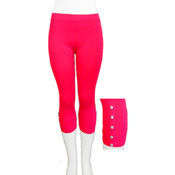 Seamless ' Capri w/ Accessory- Rose Pink