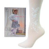 Girl&#39;s Fashion Pantyhose -Rose Design