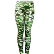 Ladies Footless &quot;Jeggings&quot;/ Hunter Green -S/M