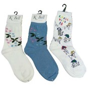 K Bell Youth Socks Wholesale Bulk
