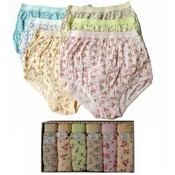 Ladies' Panty Floret Design