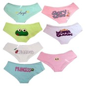 Ladies Assorted Print Panties