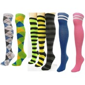 Wholesale Knee High Socks - Stripe Knee High Socks - Discount Knee High Socks