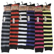 &quot;J-Ann&quot;  Over Knee Stocking-Wide  Stripes