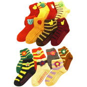 Kids Non Slip Wool Socks Wholesale Bulk