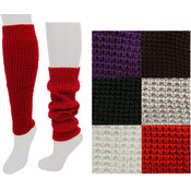 Ladies Knitted leg Warmers- Assorted Colors