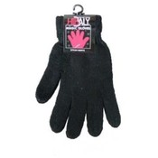 Adult's Magic Gloves-All Black -7 inch- Irregular