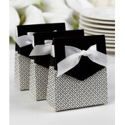 Black Tent Favor Boxes
