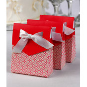 Fuchsia Tent Favor Boxes