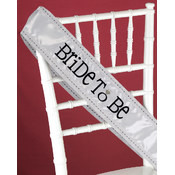 Bride to Be Jeweled Sash