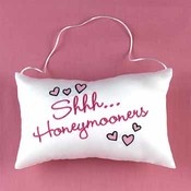 Shhh.. Honeymooners Door Hanger