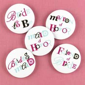 Bachelorette Buttons - Set of Twelve Assorted