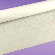 Linked at the Heart Ivory Aisle Runner Wholesale Bulk