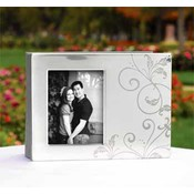 Silver Flourish Guest Book Wholesale Bulk
