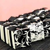 Reversible Flourish Wrap Favor Boxes