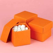 Two-Piece Favor Boxes- Orange