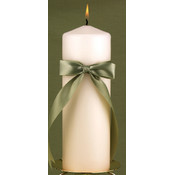 Ivory Customized with Color Unity Candle