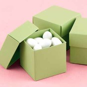 Two-Piece Favor Boxes- Olive