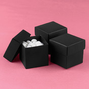 Two-Piece Favor Boxes- Black