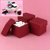 Two-Piece Favor Boxes- Claret (Merlot)