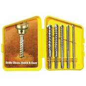 Carbide Tipped Rotary Hammer Masonry Drill Bit Set
