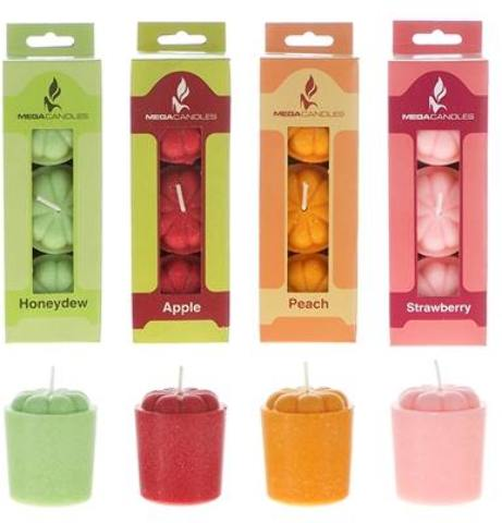 3 piece Scented VOTIVE CANDLE in Designer Box - Assorted [1996401]