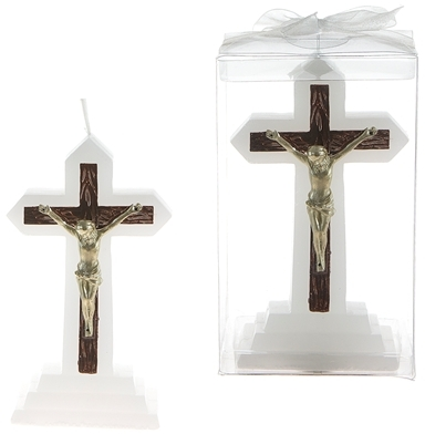Jesus on Cross CANDLE - Gold [1777454]