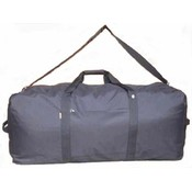 600D Polyester Square cargo duffel Bag 42&quot;x20&quot;x20&quot; Black