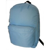 18&quot; Classic Backpack- Light Blue
