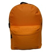 Classic Backpack 18&quot;x13&quot;x6&quot; Orange