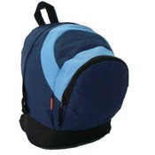 "Kids Backpack 14x11x6"" Navy/Blue."