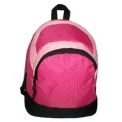 "Kids Backpack 14x11x6"" Hot Pink/Pink."