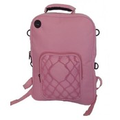 "Deluxe Kids Backpack 14""x10""x2""  Pink."