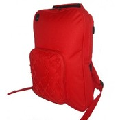 "Deluxe Kids Backpack 14""x10""x2"" Red."