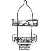 Shower Caddy - Bird & Flower Pattern Wholesale Bulk